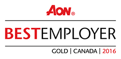 Aon Canada's best employers logo