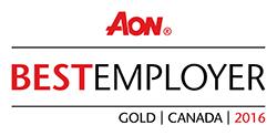 Aon Canada's best employers logo